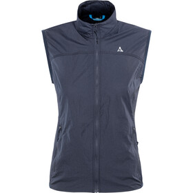 Schöffel L1 Windbreaker Vest Women dress blues